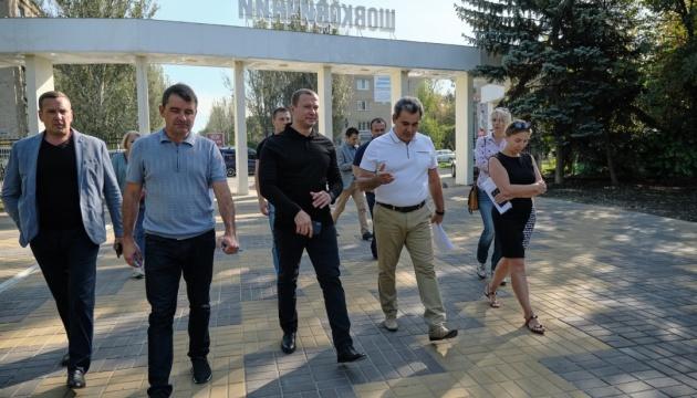 У Слов'янську реконструкцію парку мають завершити до кінця року – Кириленко