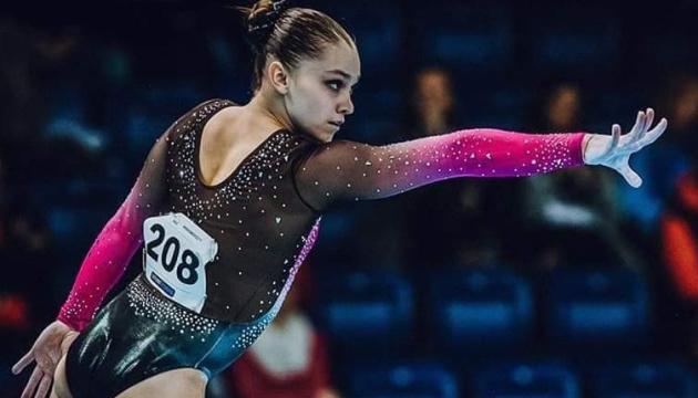 Українські гімнастки вибороли 3 нагороди на етапі Кубка світового виклику в Парижі