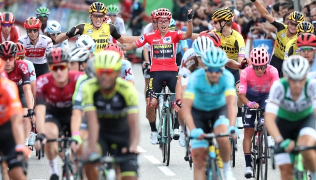 Словенський велогонщик Рогліч став переможцем Vuelta-2019