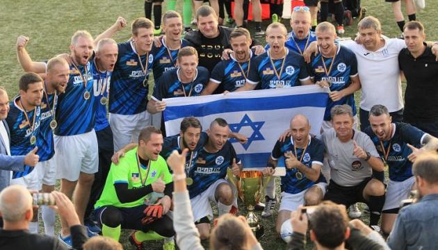 Сборная Израиля выиграла чемпионат мира по футболу среди команд украинской диаспоры