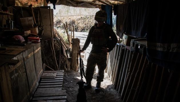 На Донбасі загинув український військовий, четверо — поранені