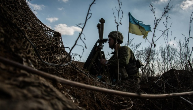 Khomchak says Ukrainian Armed Forces will return to positions in Donbas held in 2016