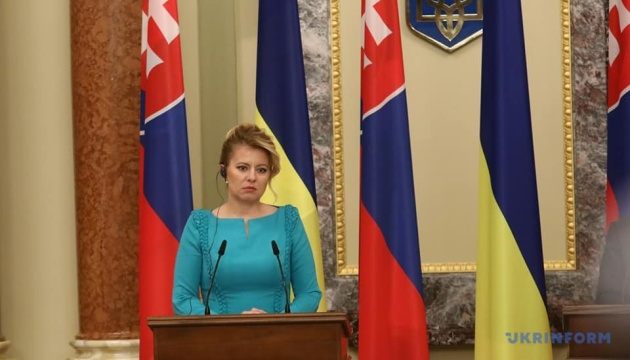 Slovakia supports sanctions against Russia until implementation of Minsk agreements – Caputova