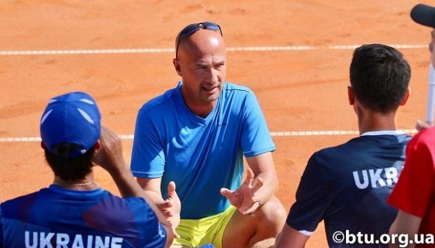Капітан українських тенісистів Медведєв: Пишаюся своєю командою та її грою