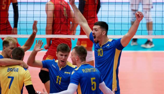 Збірна України обіграла волейболістів Чорногорії на чемпіонаті Європи-2019