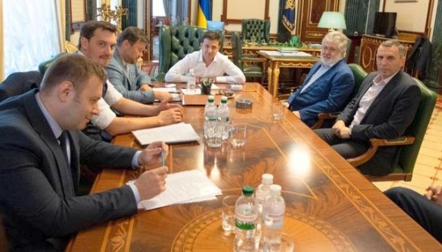 FT: Зеленский и Коломойский ищут компромисс по ПриватБанку - Гончарук