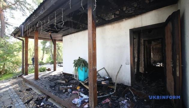 Гонтарева каже, що нічого не знає про розслідування підпалу її будинку