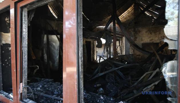 Підпал будинку Гонтаревої: Зеленський чекає якнайшвидшого розкриття справи