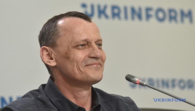 Пресконференція  звільненого політв'язня Кремля Миколи Карпюка: Україна після полону