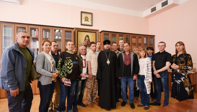 Епіфаній зустрівся з Сущенком, Балухом та іншими колишніми бранцями Кремля