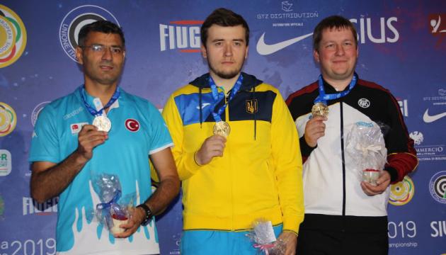 Коростильов став чемпіоном Європи зі стрільби з малокаліберної зброї