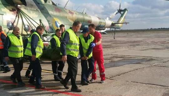 Двох поранених на Донбасі бійців вертольотами доправили до Дніпра