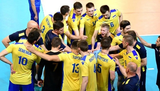 Сборная Украины по волейболу обыграла Эстонию и вышла в плей-офф чемпионата Европы