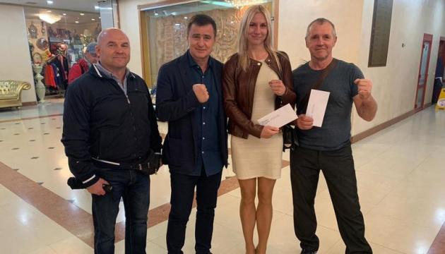 Срібні призерки чемпіонату світу з боксу Бова і Охота отримали грошові премії