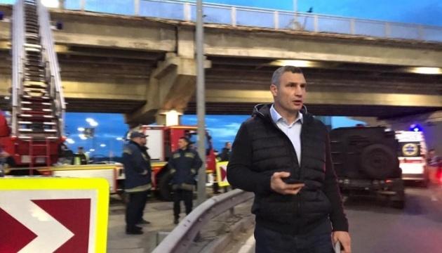 Кличко прогнозує, що транспортний колапс у столиці мине через годину-півтори