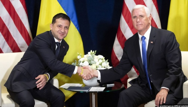 Zelensky and Pence discuss U.S. defense assistance and energy