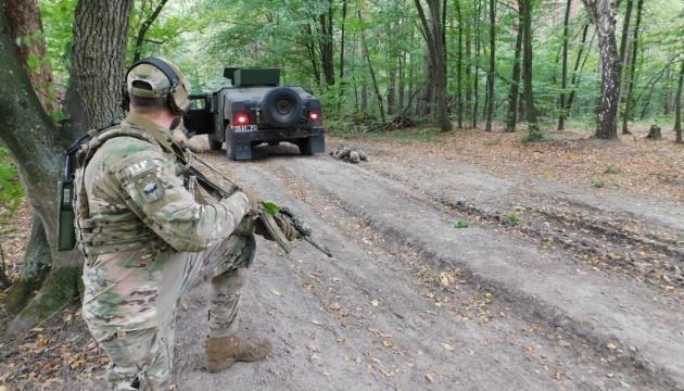 На Львовщине продолжаются учения Rapid Trident-2019 при участии военных из 14 стран