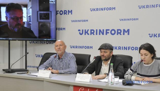 Онлайн-прессконференция участников словенской рок-группы «Laibach»