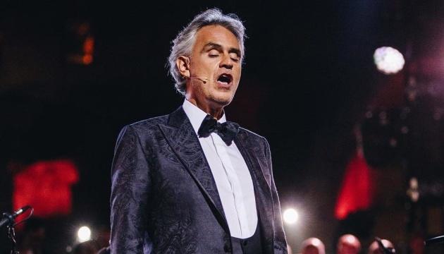 На День Незалежності у Києві відбудеться концерт Бочеллі