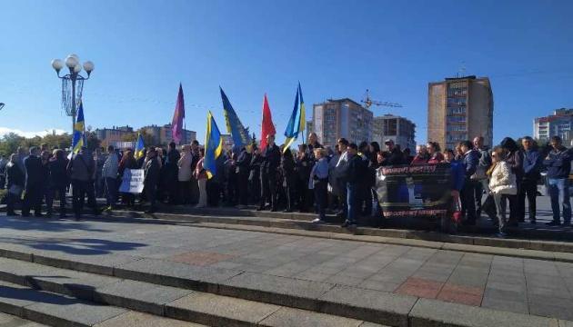 У Черкасах підприємці протестували проти введення касових апаратів