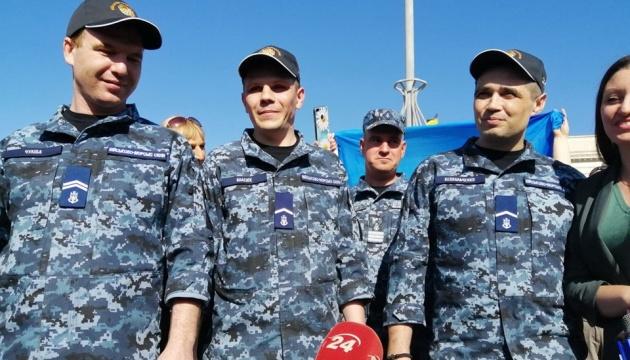 Моряк Беспальченко розповів, як домагався дозволу на одруження в