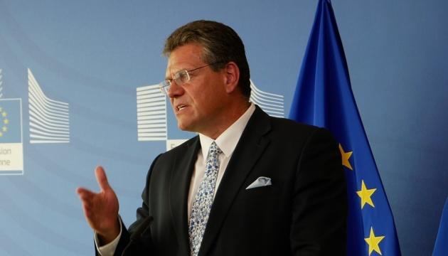Maroš Šefčovic propose à l'Ukraine et à la Russie de signer un contrat de gaz d'au moins 10 ans