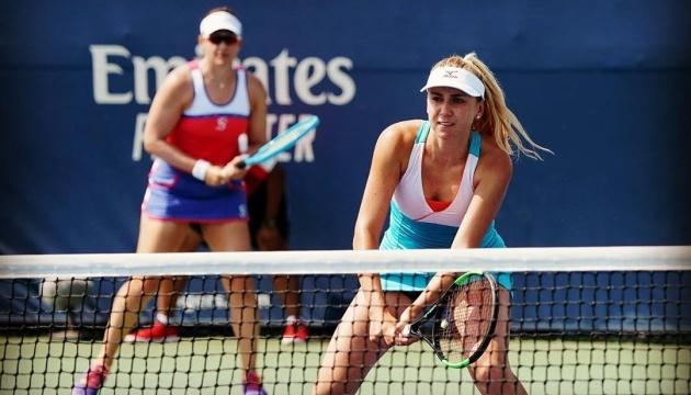 Киченок остановилась в парном полуфинале турнира WTA в Осаке