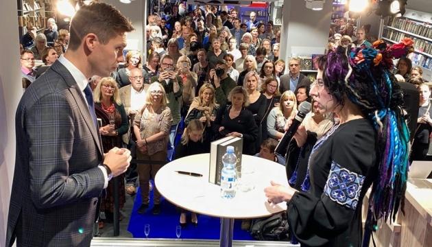 Фінська письменниця презентувала книгу про сучасну Україну та українок