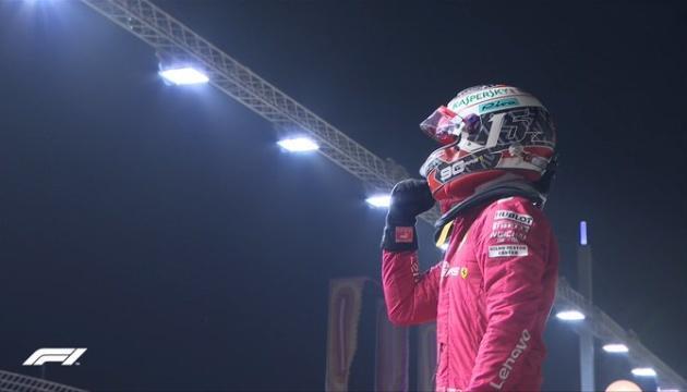 Формула-1: Леклер виграв кваліфікацію Гран-прі Сінгапуру