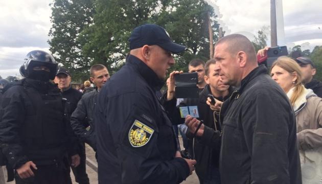 Блокирование вагонов с российским углем: задержали 28 участников акции