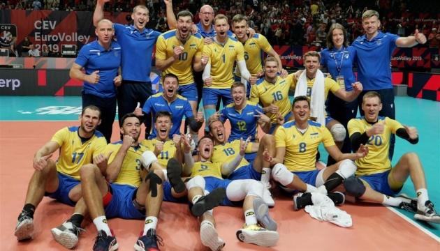 Волейбол: Украина впервые пробилась в четвертьфинал чемпионата Европы