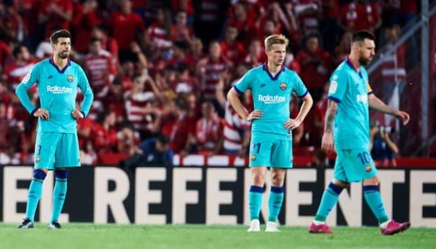 У «Барселони» найгірший старт в Ла Лізі за останні 25 років