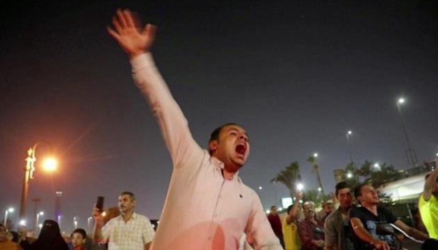 В Египте произошли столкновения на второй день антипрезидентских протестов