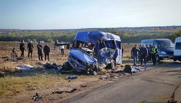 ДТП с девятью погибшими под Одессой: полиция задержала водителя фуры
