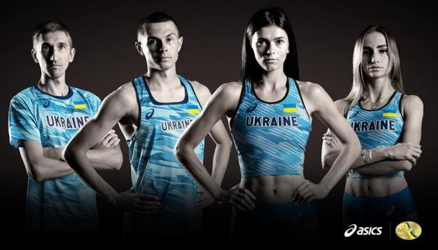 Сборная Украины по легкой атлетике представила новую форму перед чемпионатом мира