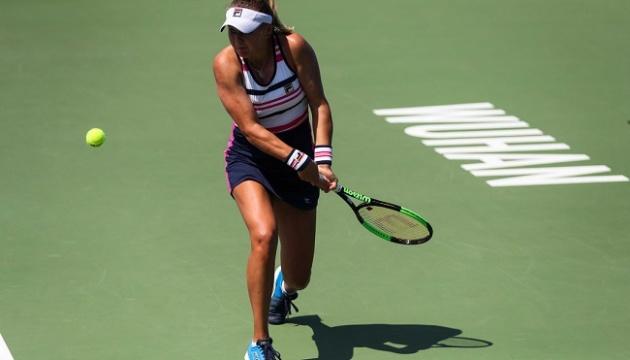Козлова достроково завершила виступ на тенісному турнірі в Ухані
