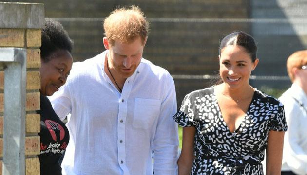 Принц Гарри и Меган Маркл отправились в королевский тур по Южной Африке