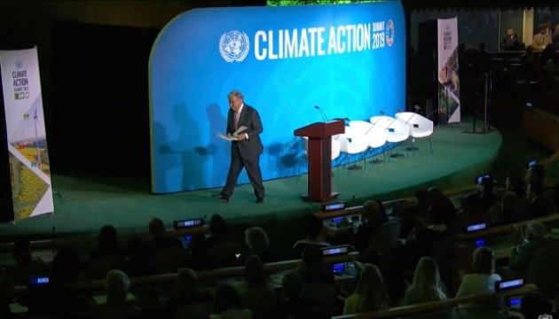 Генсек ООН: Світ у глибокій ямі кліматичної кризи - треба перестати копати