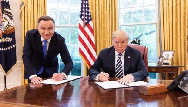 Трамп обговорив з Дудою, як зупинити Nord Stream 2