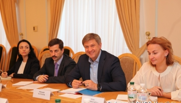 Danyliuk, Canadian delegation discuss security and defense reforms