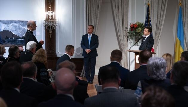 """""""Вы – наши лучшие дипломаты"""": Зеленский поблагодарил украинскую диаспору в США"""