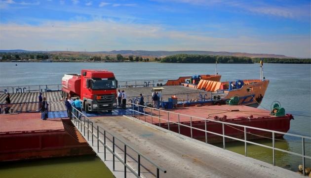 На границе с Румынией открыли новый пункт пропуска с паромной переправой