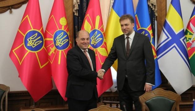 Ukraine and UK set priorities for defense cooperation