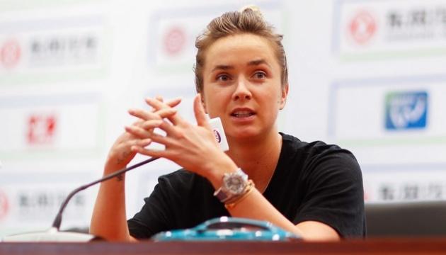 Світоліна відзначила високий рівень тенісу в поєдинку з Мугурусою