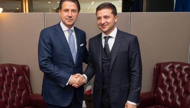 Зеленский предложил премьеру Италии создать совместную следственную группу по