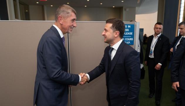 Зеленский на встрече с Бабишем пригласил бизнес Чехии активно заходить в Украину