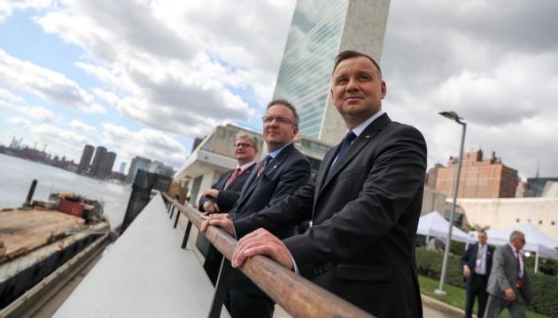 Дуда в ООН призвал не повторять ошибок в отношениях с агрессором