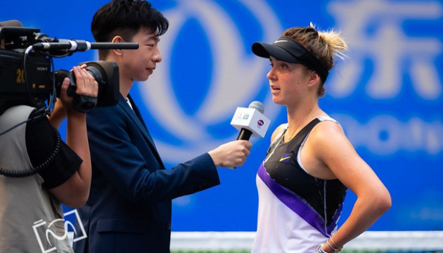 Світоліна прокоментувала свою перемогу над Кузнецовою в 3 колі турніру в Ухані