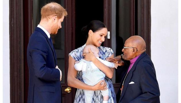 Принц Гарри и Меган Маркл впервые взяли сына на королевскую встречу