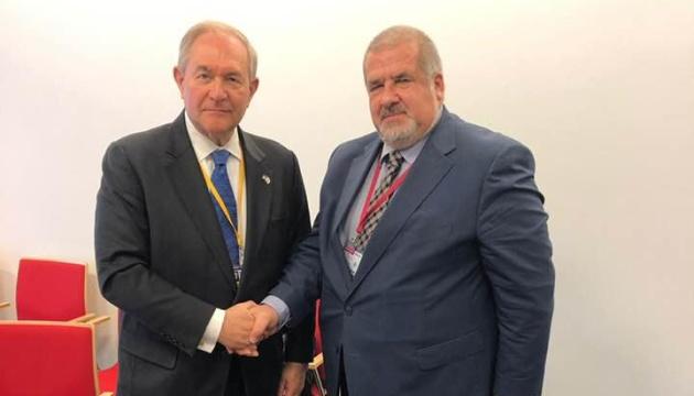 Чубаров зустрівся із послом США в ОБСЄ